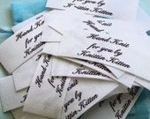 3/4 x 2 1/2 Inch - Sew on Cotton Labels - 36 Labels