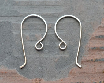 5 pair Sterling silver handmade earwires Classic