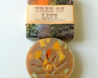 Woodland Body Soap / All Natural Soap / Cold Process Soaps / Tree of Life