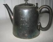 Vintage Teapot English Silver Plate Civic Sheffield