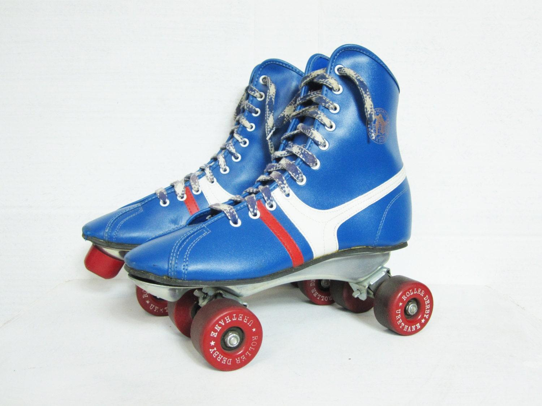 Roller skates blue -  Zoom