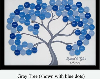 Medium Wedding Guest Book Tree for 75-150 Guests