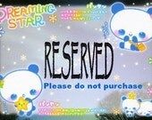 "RESERVED for Fer""""""""""""""""""""""""""""o"