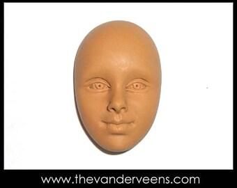 Mold No.31 (Face-Open eyes) by Veronica