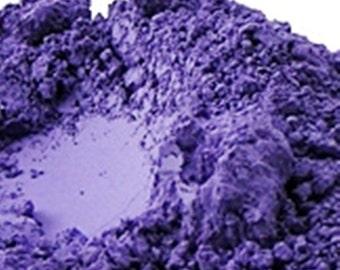 Lavender Ultramarine Pigment Powder 1 Oz (30 Grams) or 4 Oz, Violet Mica, Lavender Mica, Lavender Dye, Violet Dye Powder