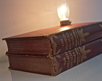 Vintage Book Lamp - The Children's Encyclopedia