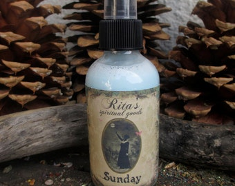 Rita's Sunday Funday Spiritual Mist Spray - Relax, Peace, Pleasure, Enjoyment, Happiness - Hoodoo, Pagan, Witchcraft