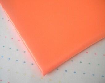 "Orange Satin Lining Fabric, 60"" Wide, BTY"