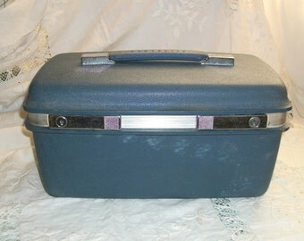 Vintage 1960s Samsonite Small Weekend Travel Case Exec Cond Very Retro