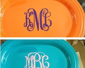 Vinyl Monogram Decal  - 4 inch