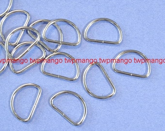 "100 3/4"" Dee Rings For Webbing Strapping Metal D Rings H108"