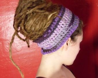 Purple Scrap Headband