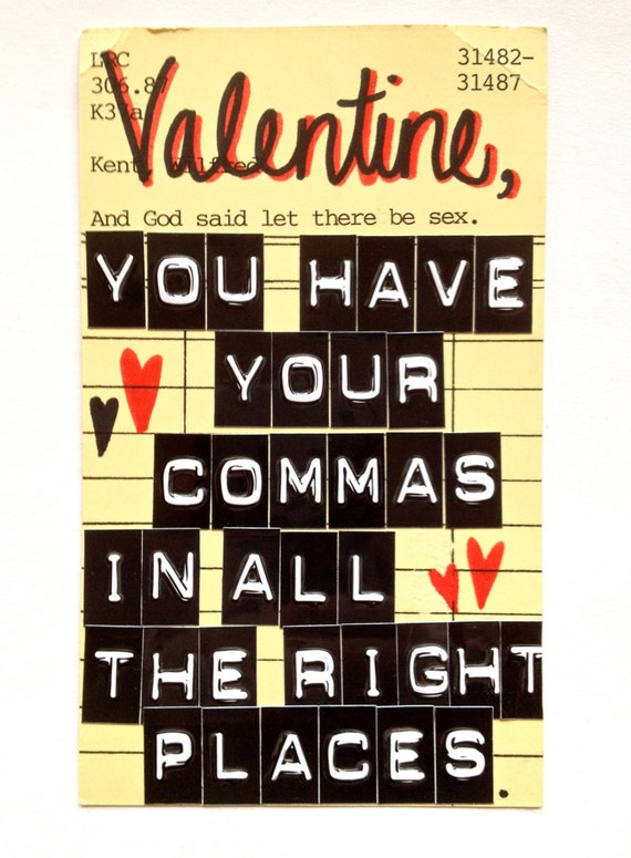Cheeky Library Valentines - Set 5