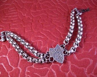 Vintage Mens Mossimo Heavy Metal Wrist Chain or Bracelet