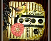 Premade Scrapbook  Mini-album Lovely