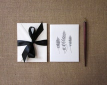 Fern Note Cards Set of 10 with Matching Envelopes