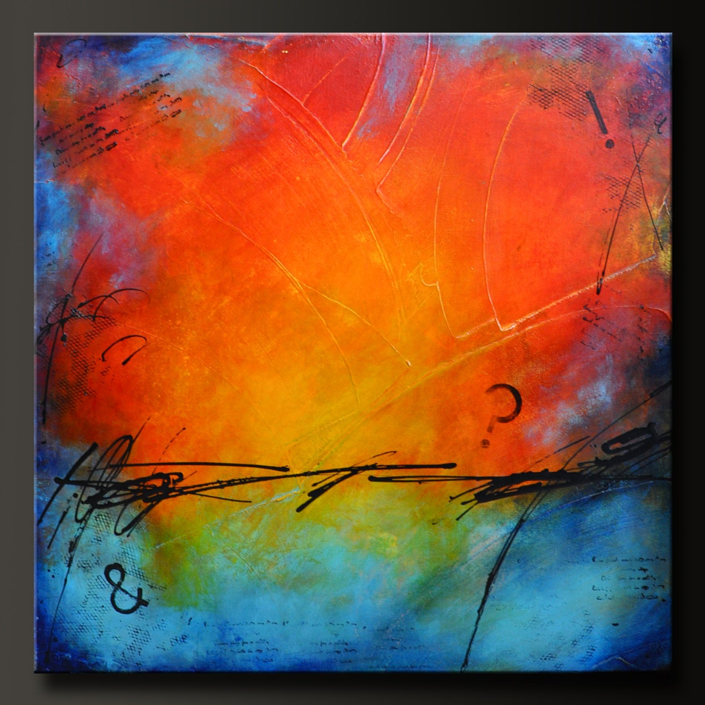 Request a custom order and have something made just for you Easy Acrylic Painting Ideas Abstract