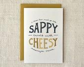 Valentine Card - Cheesy