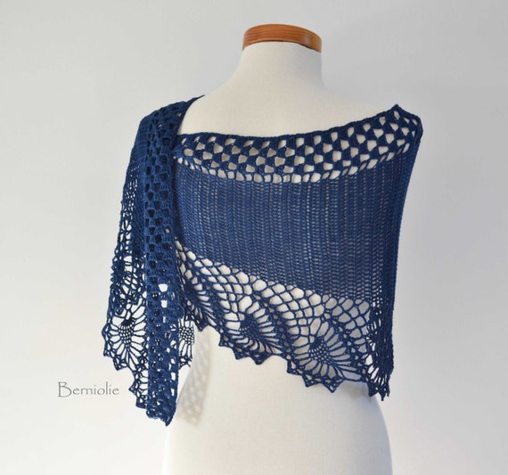 INSTANT DOWNLOAD, OSWIN, Crochet shawl pattern pdf