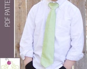 The Necktie PDF Sewing Pattern/Tutorial from The Sweetest Patterns - Instant Download Pattern