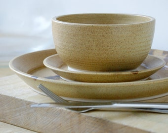 Made to order - A set of four custom place settings for your dinner table