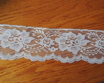 3 Yards Rose E Dee White Lace