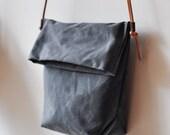 FIELD BAG - charcoal