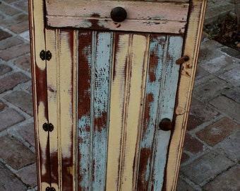 Reclaimed Furniture - Handmade - Wooden Table - Honey's Treasures - Wood Furniture - Made to Order - Nightstand - Rustic Home Decor