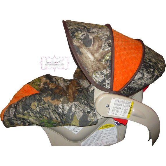 Car Seat Cover Camo With Orange Infant To Toddler