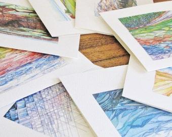 Renee Leone Studio Travel Watercolors Blank Note Card