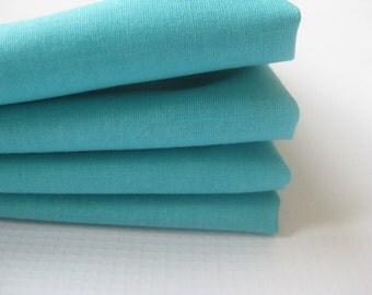 Cloth Napkins - Aqua - 100% Cotton