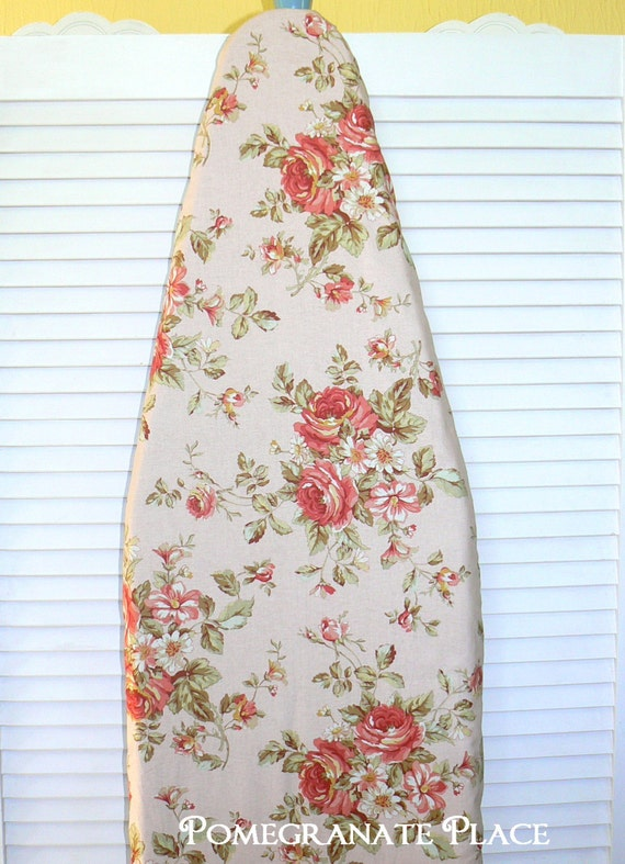 Ironing Board Cover Vintage Rose