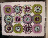 RESERVED LISTING for Sarah (Aviary II Crib Quilt)