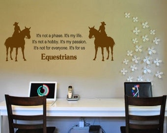 Horse DecalHorse StickerHorse Wall DecalAppaloosa - Wall decals horses