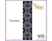 Voodoo - Peyote Beading Pattern for bracelet - INSTANT DOWNLOAD pdf - New coupon codes
