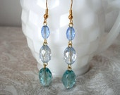 Just Gemmy - Faceted Bead Earrings