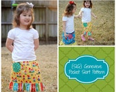 INSTANT Download SIG Genevieve Pocket Skirt - Sewing Pattern for size 12 month to youth 6