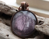 Little Red Riding Hood Copper Pendant