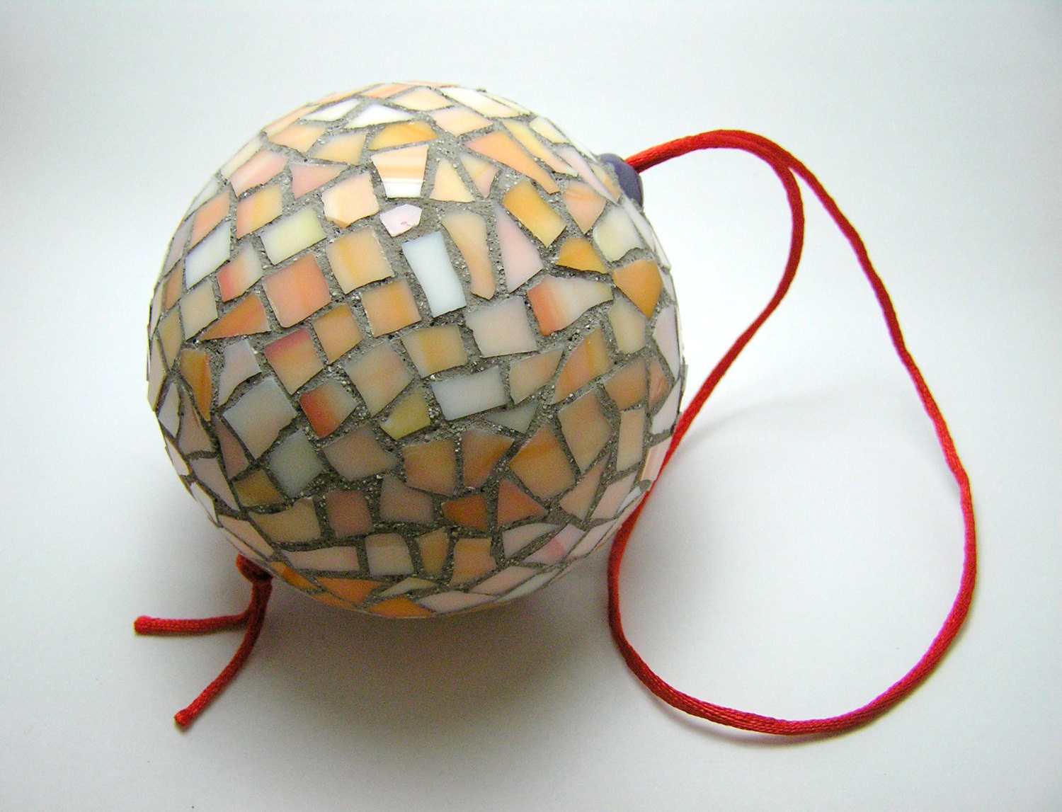 Mosaic Handmade Ornament Ball Christmas Tree And Home Decor