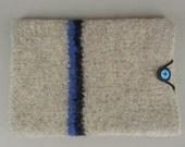 iPad Mini Sleeve- Hand Knit and Felted