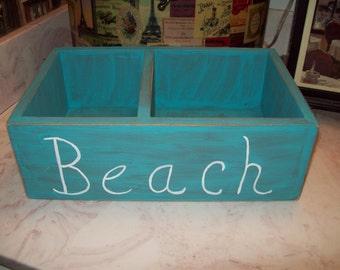 Beach Storage Box,Beach Decor,Beach Bathroom Decor,Beach House,coastal Decor