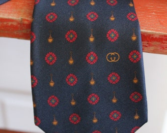 vintage GUCCI  Italian mens necktie