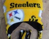 Pittsburgh Steelers Fleece Ear Flap Hat