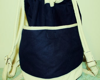 Beauitful Crossbody Hobo Backpack -  Book Bag  .
