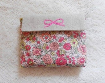 Lovely Floral on Cotton in PINK, U6048