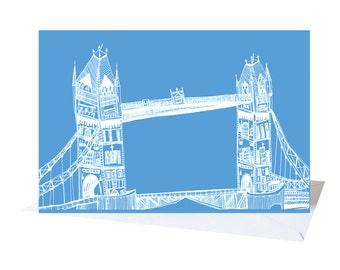 Tower Bridge, London Card