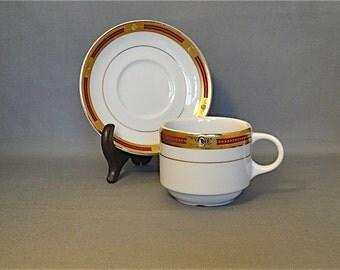 Antique Porland BS 4034 British Standard Genuine Hard Porcelain Made in Turkey