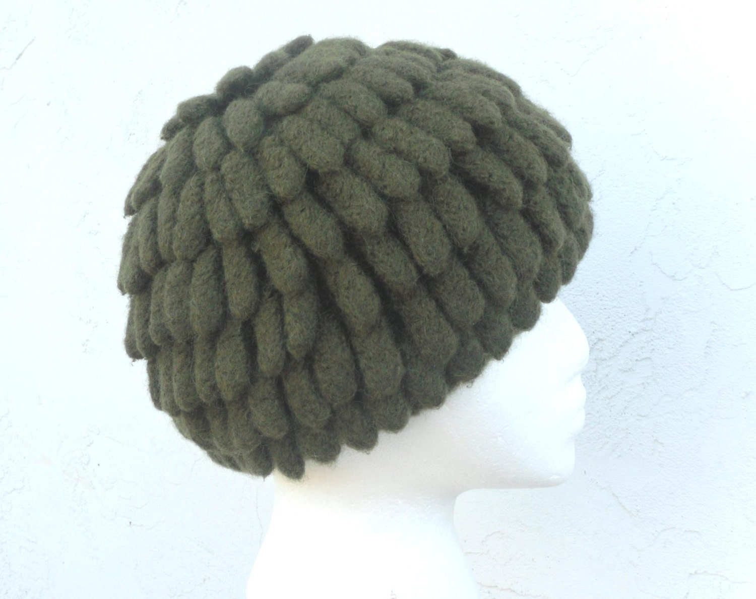 Knitting Pattern For Nudu Hat : Re-designed Billy G ZZ Top Bamileke Nudu Beanie Made by Tejidos