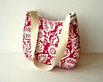 Fabric Hobo Shoulder Bag 6