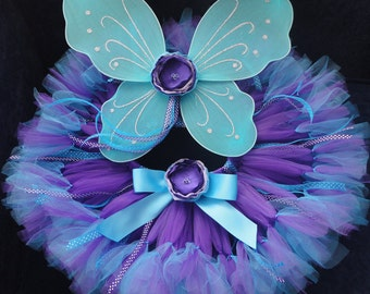 Baby Girl Costumes | Fairy Costumes | Halloween Costume Baby Girl | Baby Halloween Costume | Purple Fairy Tutu Costume